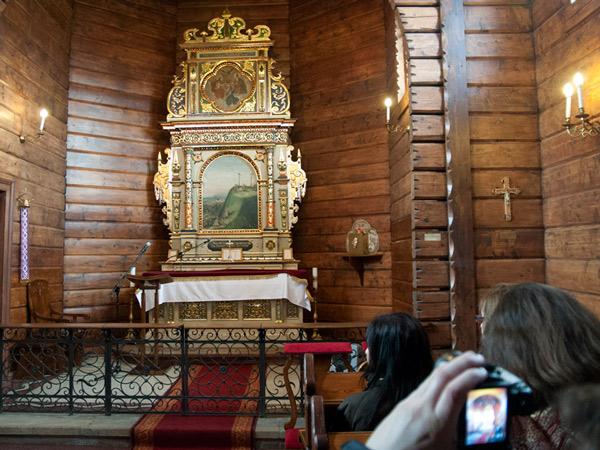 Zdjęcie - W kaplicy