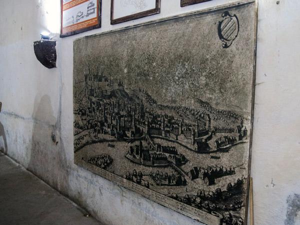 Zdjęcie - Mapa twierdzy Kłodzko