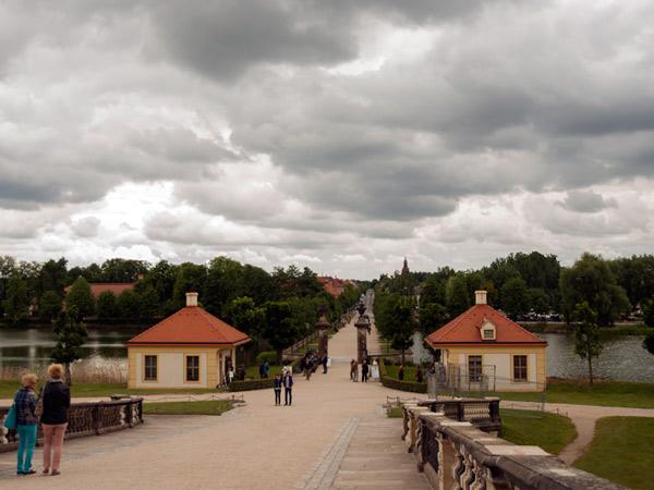 Widok w stronę miasta