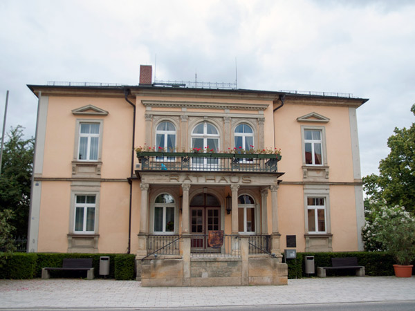 Ratusz w Moritzburgu