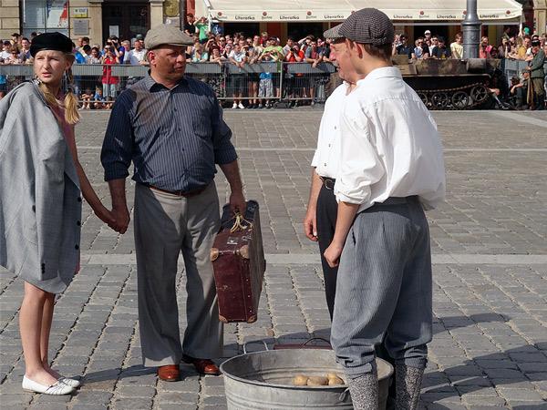 Sprzedawcy ziemniaków
