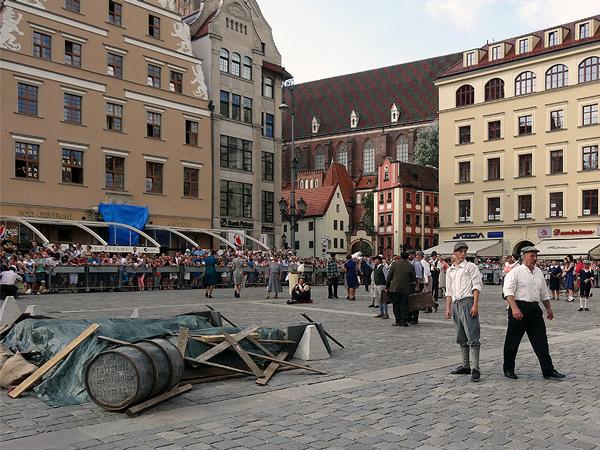 Wrocław, Powstanie Warszawskie