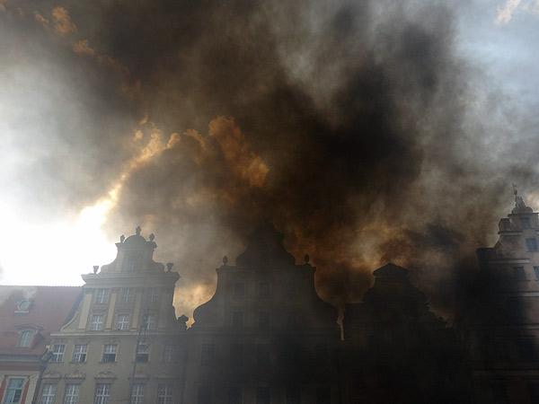 Zdjęcie - W słońcu dym
