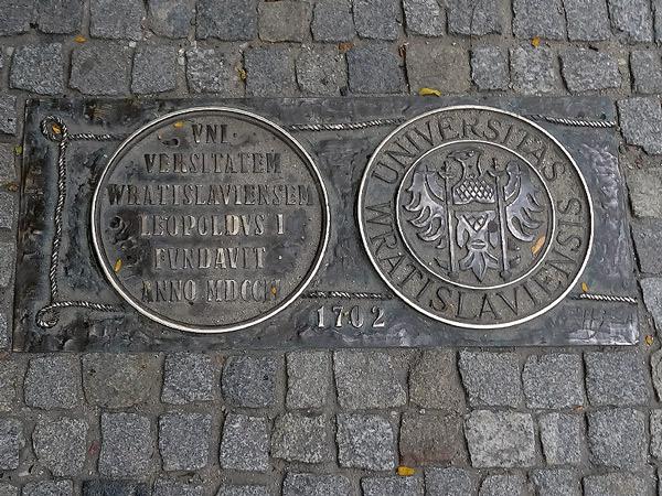 1702 założenie Uniwersytetu Wrocławskiego