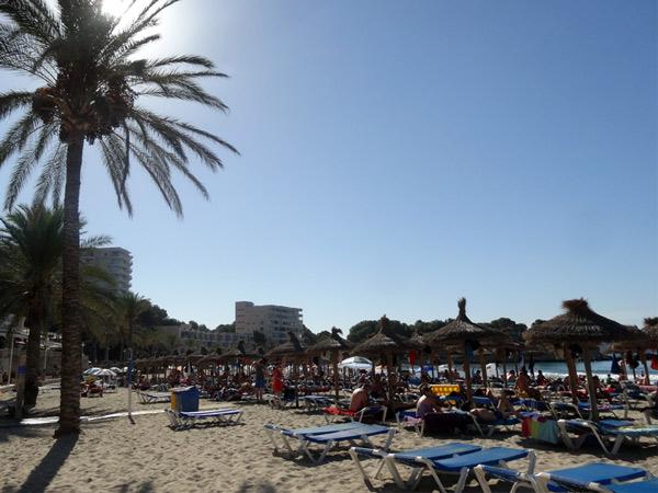 Plaża przy hotelu