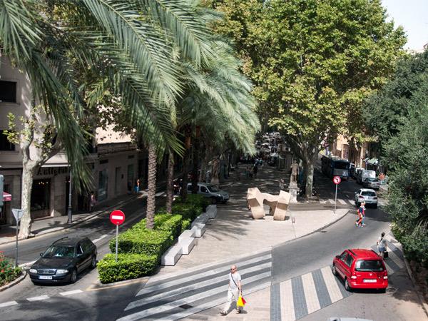 Palmy w Palma de Mallorca