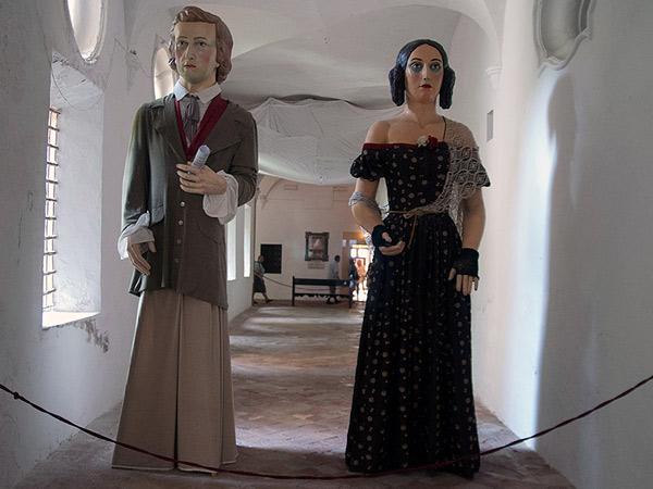 Fryderyk Chopin i George Sand