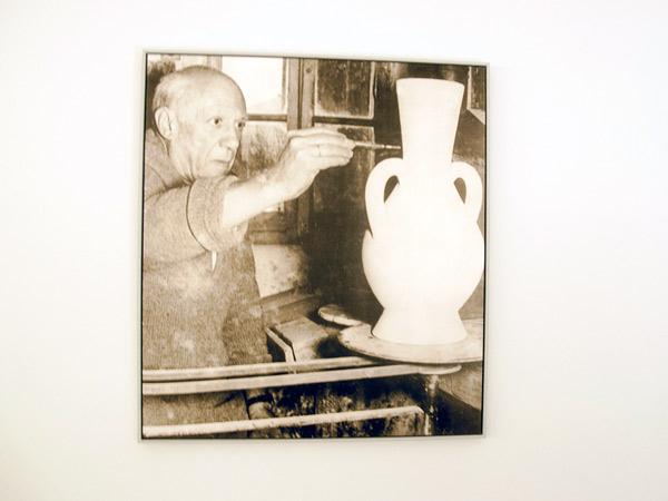 Pablo Picasso podczas pracy