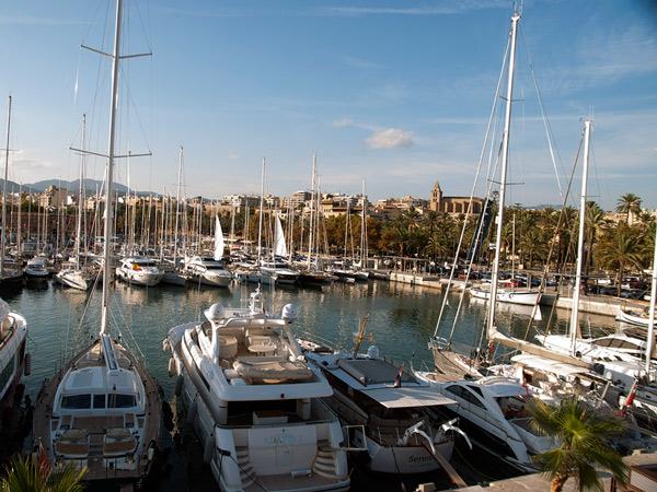 Port w Palma de Mallorca