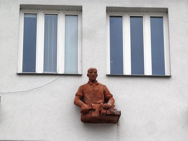 Zdjęcie - Robotnik na ścianie