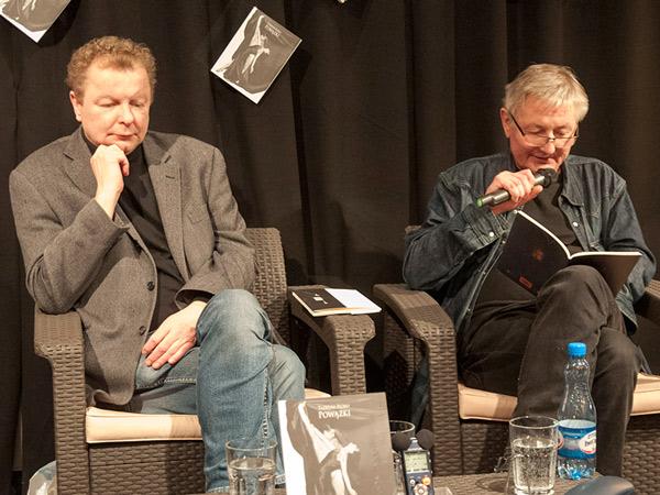 Sosnowski czyta Dom ran