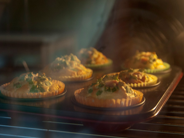 Zdjęcie - Muffinki śniadaniowe