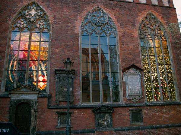 Witraże w kościele Garnizonowym