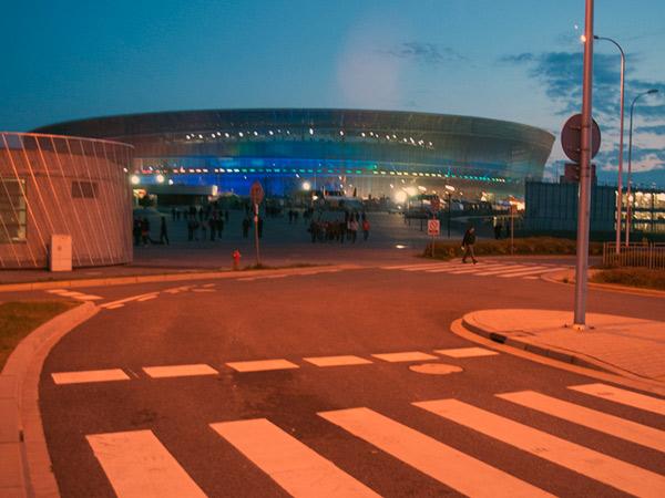Zdjęcie - Opuszczamy stadion
