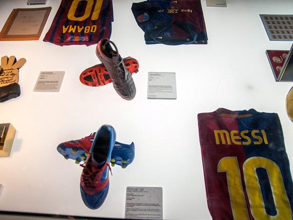 Zdjęcie - Messi i Obama