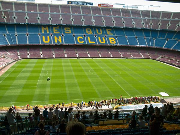 Zdjęcie - Stadion Camp Nou