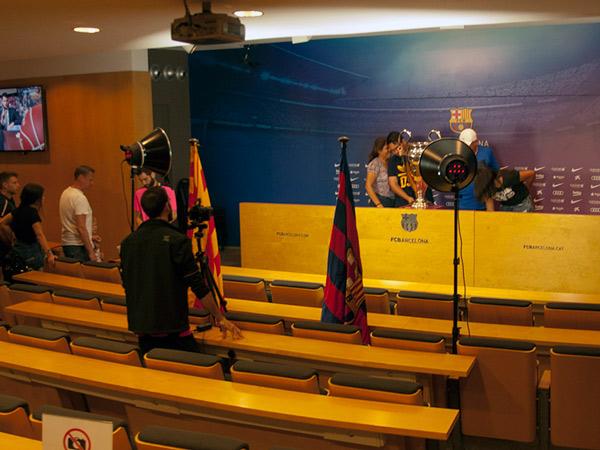 Zdjęcie - Press room