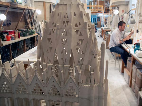 Model świątyni Sagrada Família