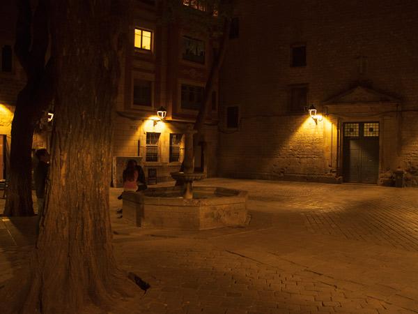 Zdjęcie - Barcelona nocą