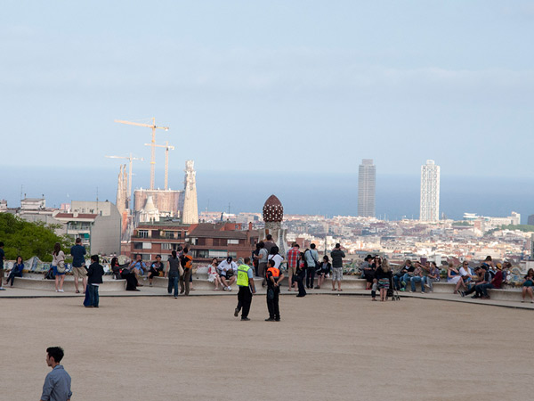 W tle Barcelona