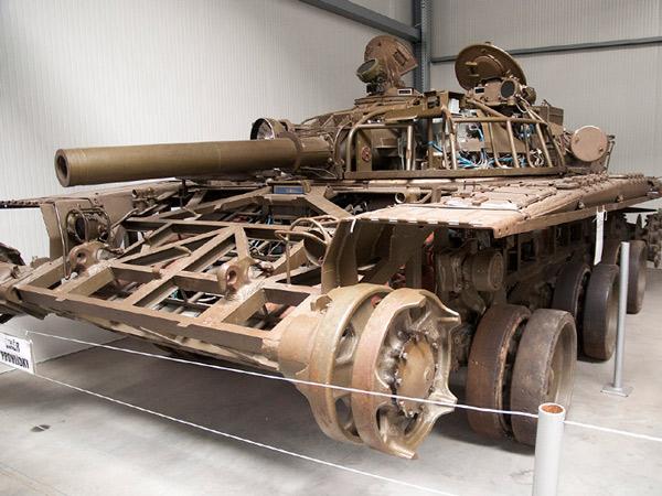 Rozebrany czołg