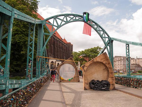 Zdjęcie - Na moście Tumskim